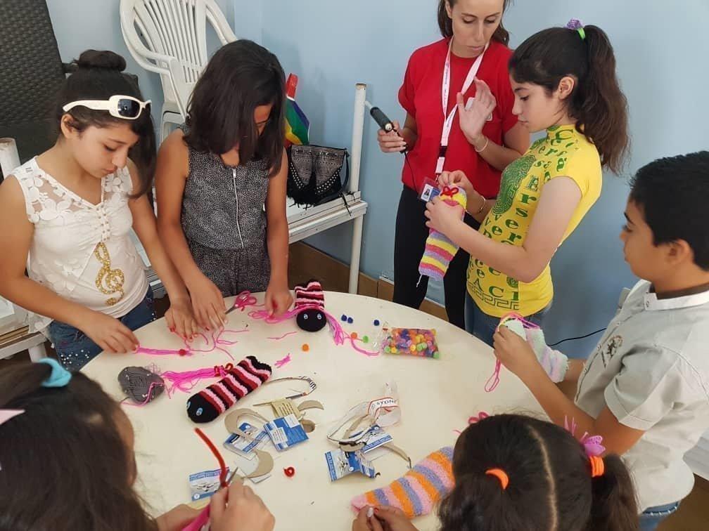 SOS-Kinderdorf Syrien Traumabewältigung
