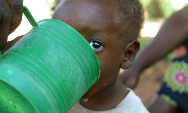 Kinder haben Hunger