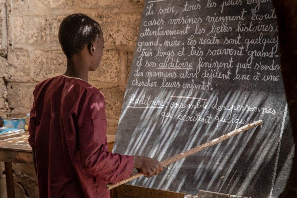 Oumarou darf endlich lernen