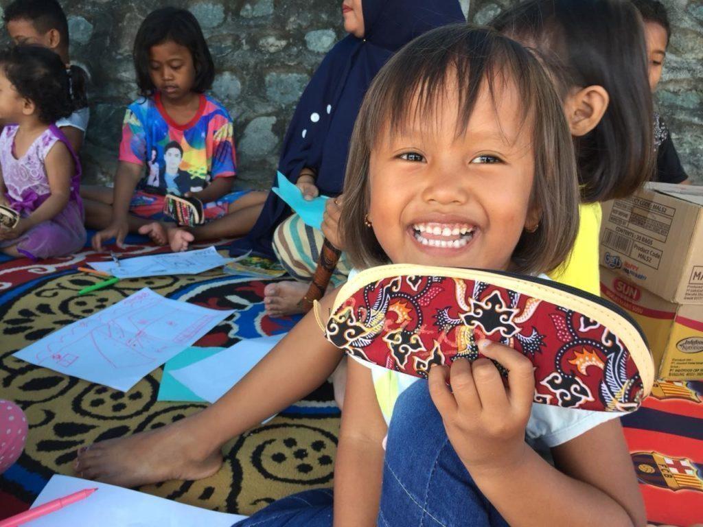 Glückliche Kinder aus Indonesien- Das Nothilfeteam von SOS-Kinderdorf hilft vor Ort.