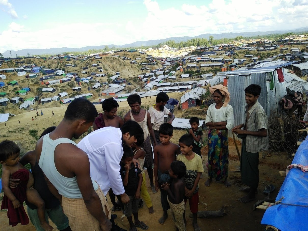 1 Million Rohingyas leben in Flüchtlingslagern in Bangladesch