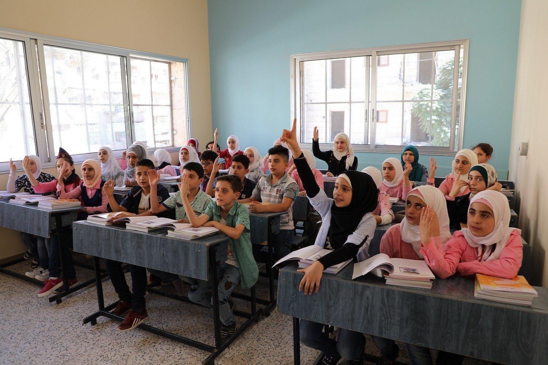 1'800 Kinder können in Ost-Aleppo wieder zur Schule gehen.