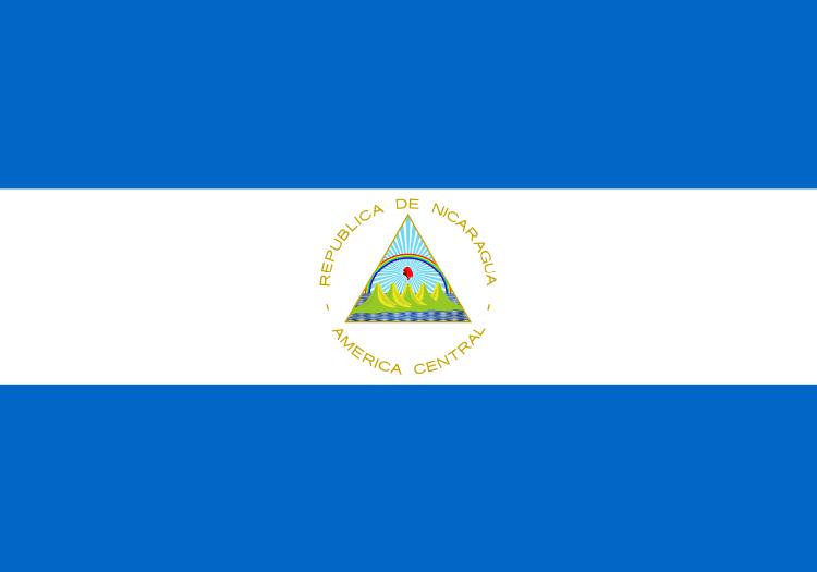 nicaragua-flagge