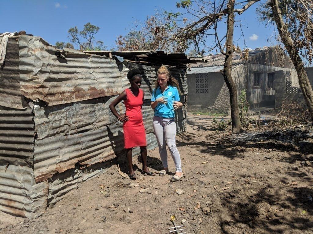 Notfallmassnahmen in Mosambik