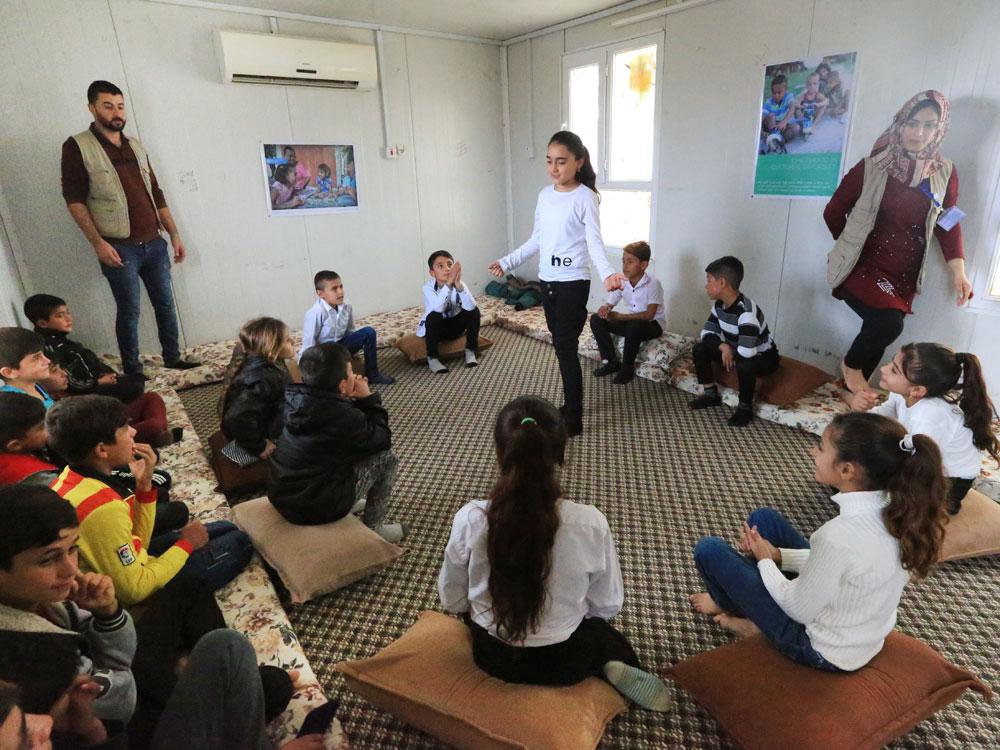 Die Interventionen von SOS-Kinderdorf konzentrieren sich auf die psychische Gesundheit schwer traumatisierter Kinder und deren Familien.