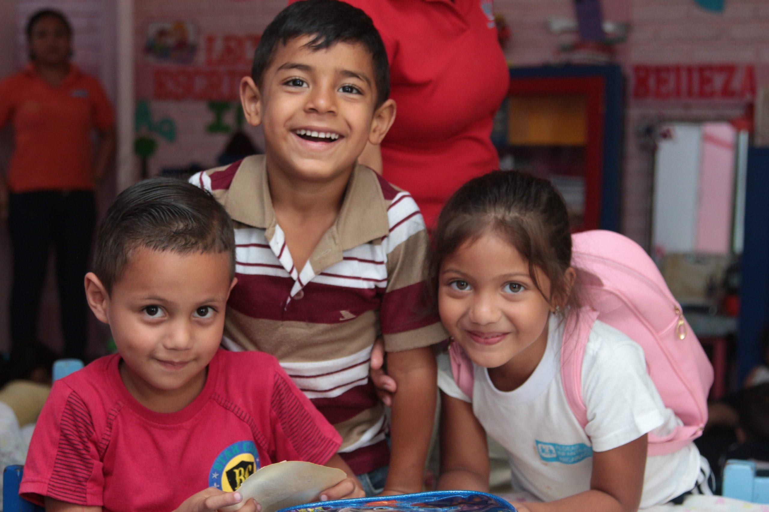 Nel centro sociale di Matagalpa i bambini si trovano in mani sicure.