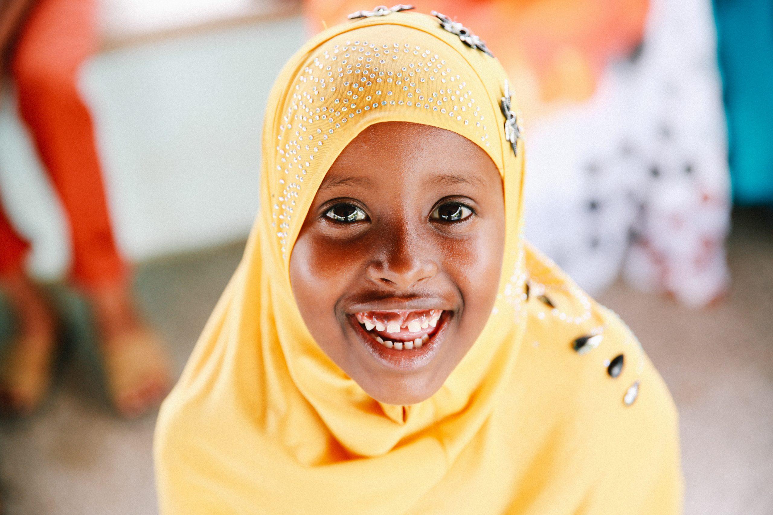 Alma, 10 anni, vorrebbe rafforzare gli altri bambini in seguito.