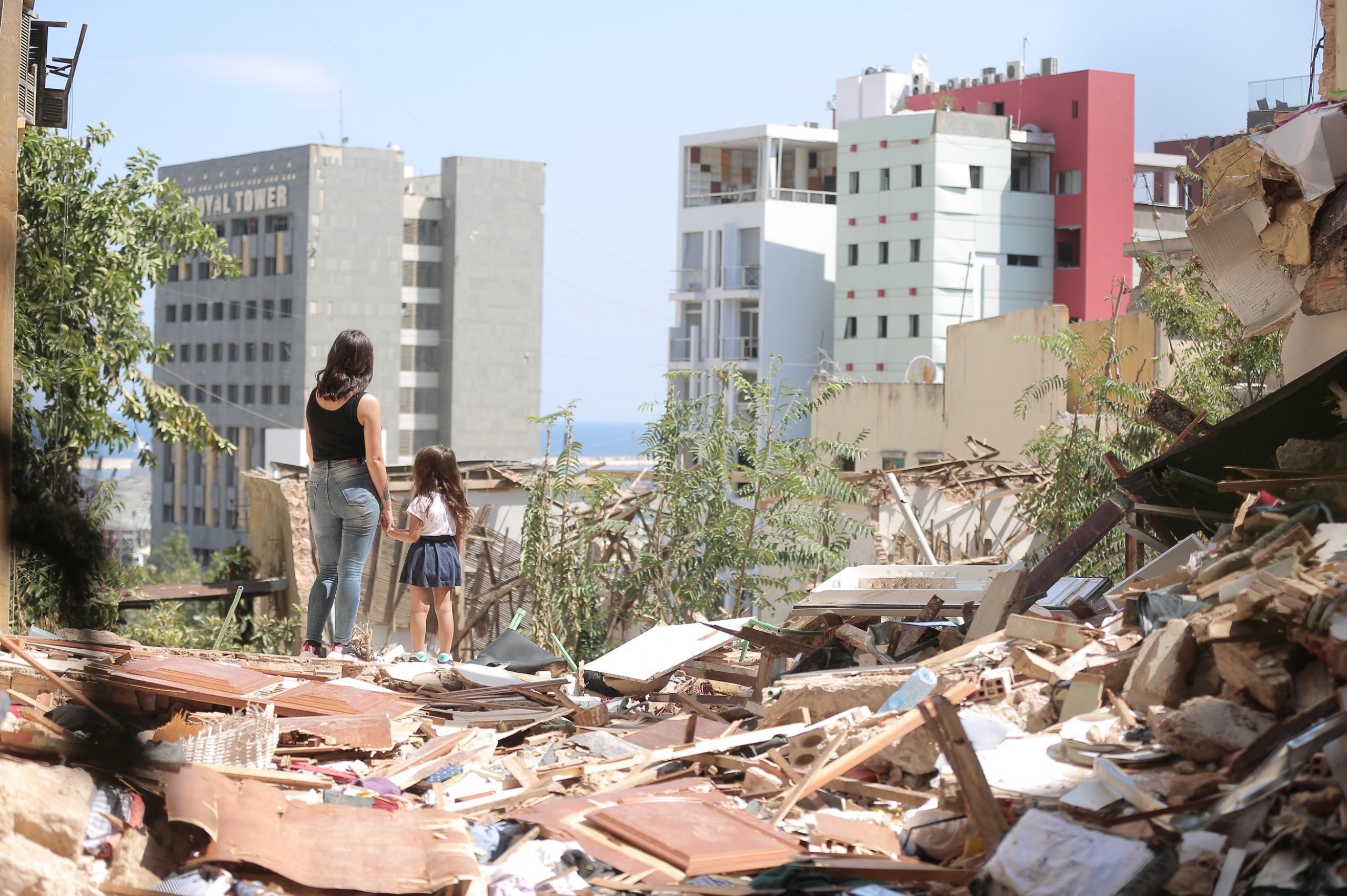 L'esplosione di Beirut sconvolge il mondo.