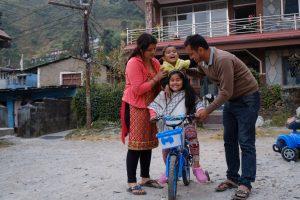 La coesione familiare fornisce ai bambini il sostegno e la sicurezza di cui hanno bisogno.