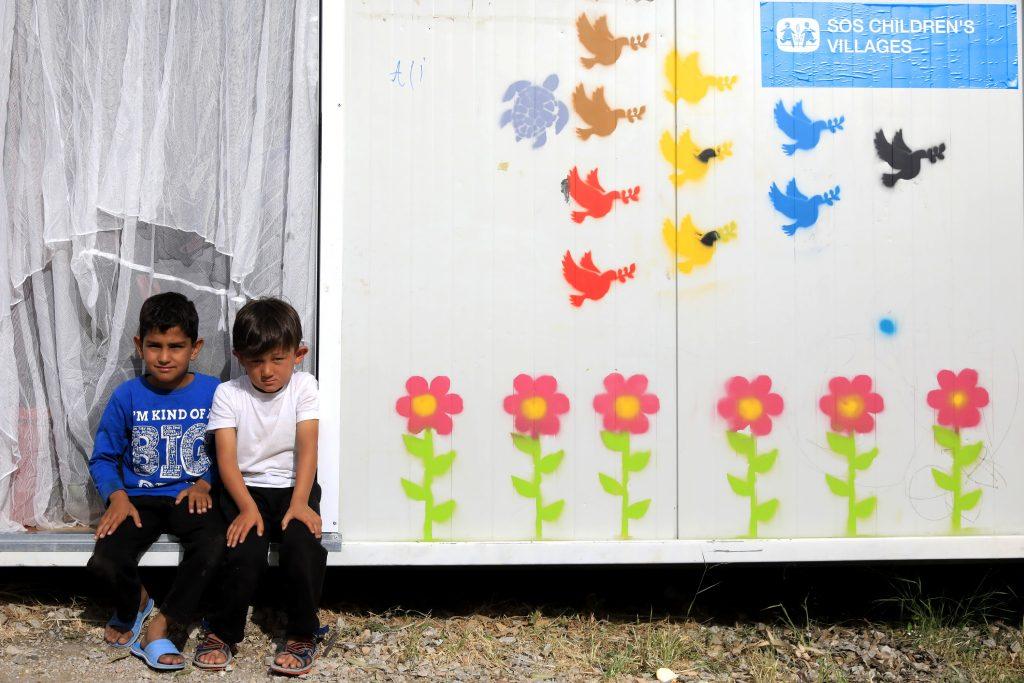 Kälte und Krise bedrohen Familien in Griechenland