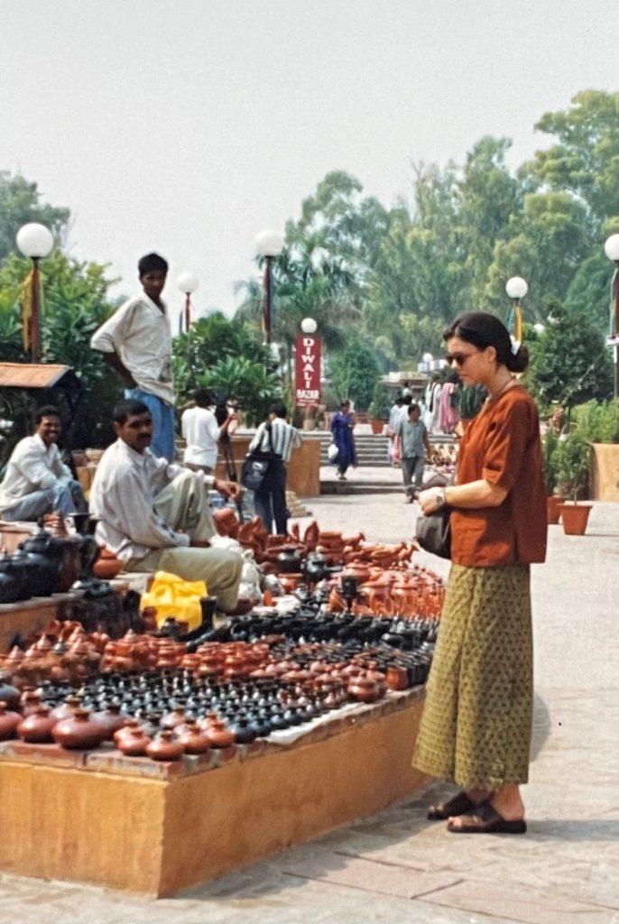 Kiki Mäder in India