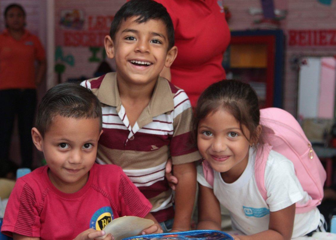 SOS-Sozialzentren bieten Vereinbarung von Familie und Beruf.