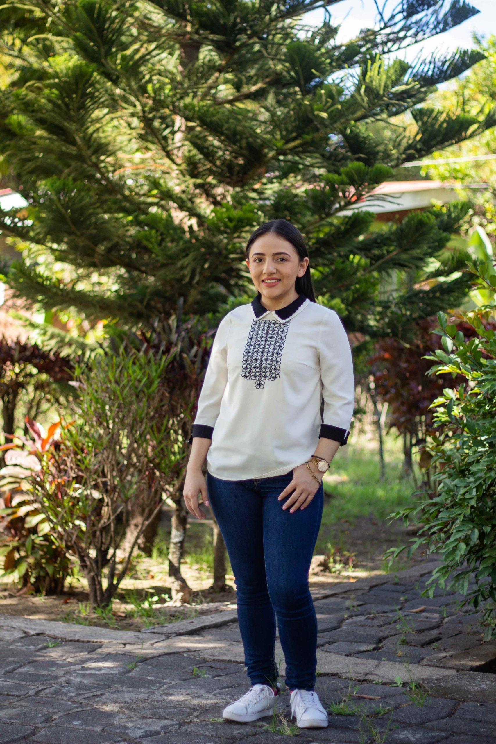 Eva ist im SOS-Kinderdorf Estelí aufgewachsen und ist für ihre Assistenzzeit dorthin zurückgekehrt.